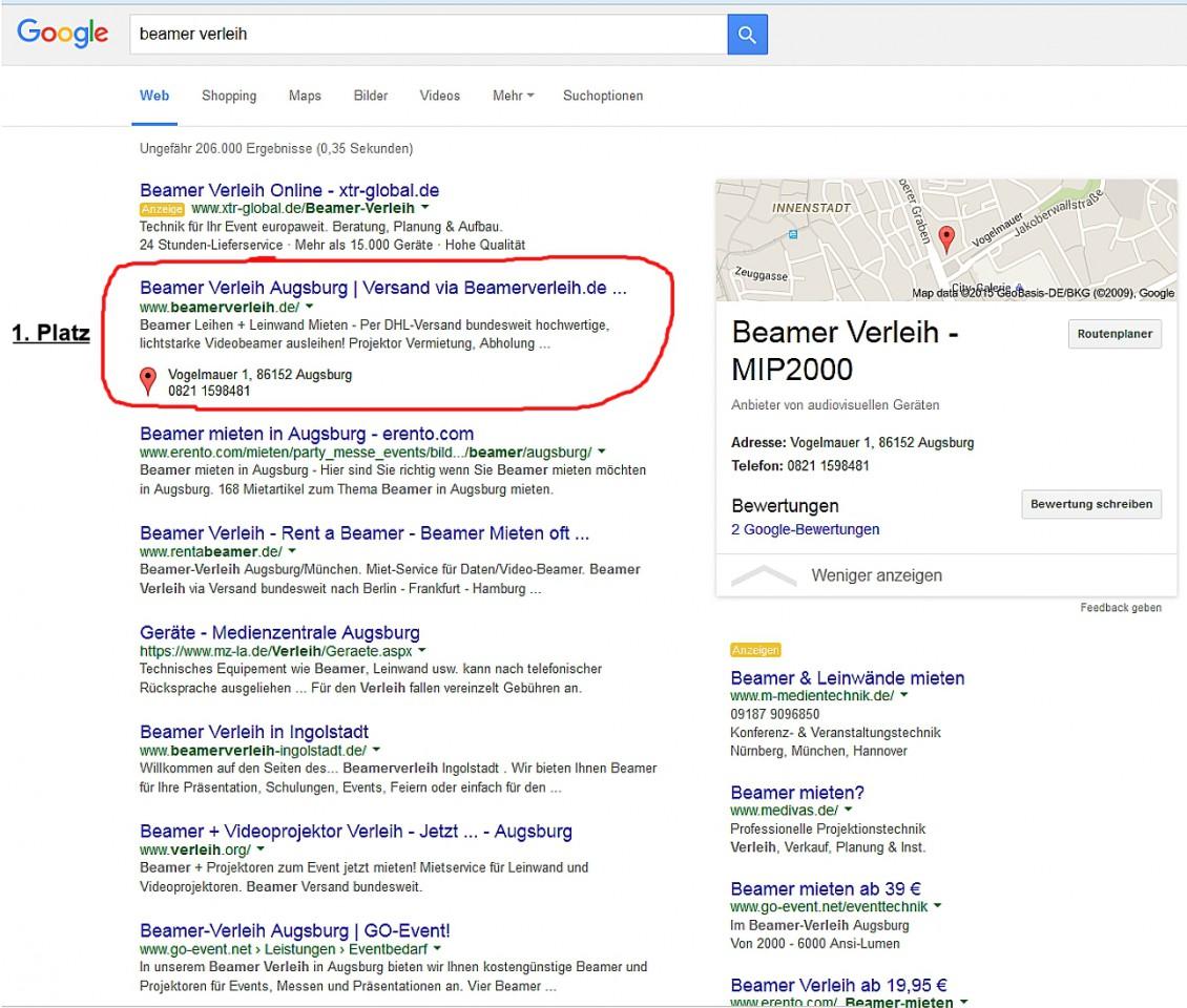 Suchmaschinen-Optimierung Onpage und Offpage