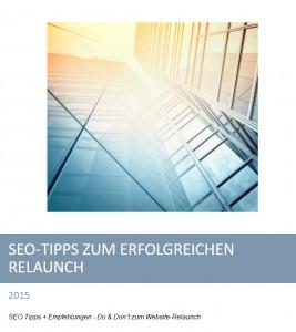 SEO Tipps zum Relaunch einer Website