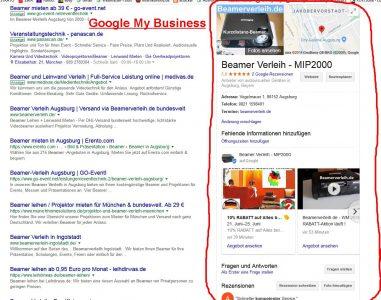 local SEO - lokale Suche über Google
