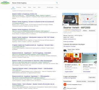 lokal suchen bei Google