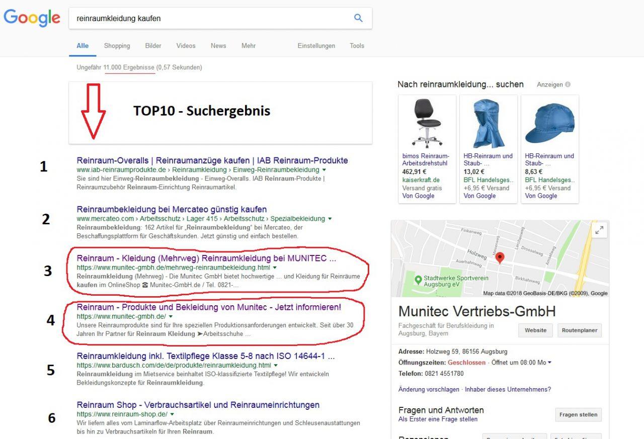 Google Suche - SERP +++ Snippet Optimierung in Google Suchergebnissen