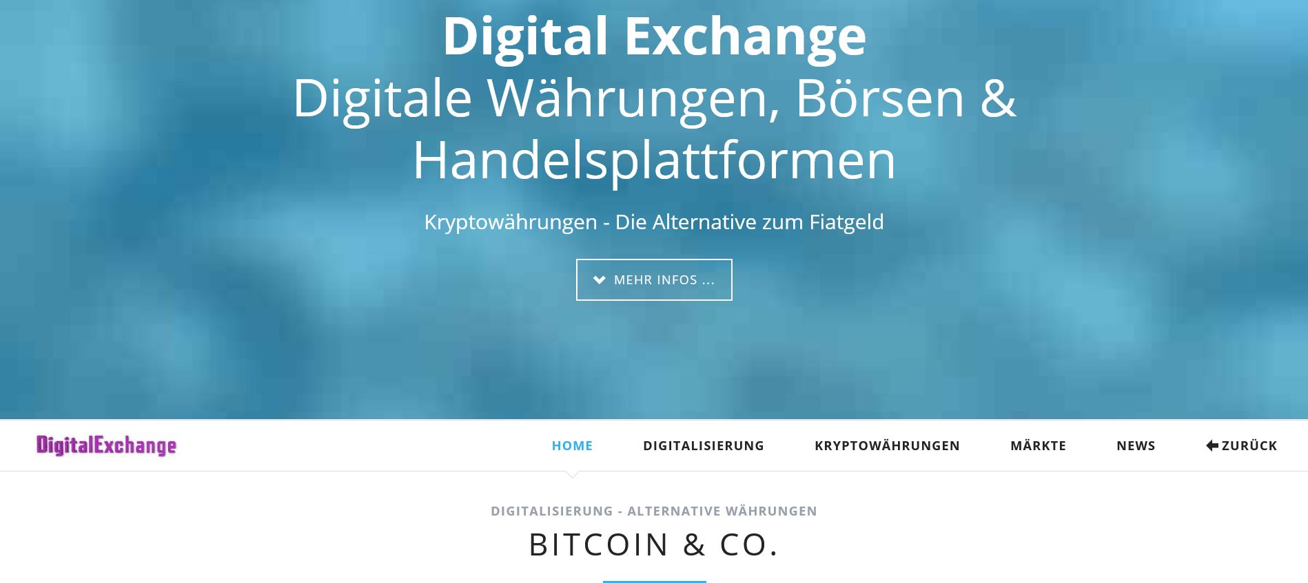 Digital Exchange - DigitalExchange.de